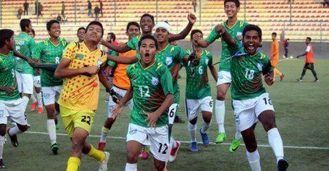 উয়েফা ইয়ুথ ফুটবলে খেলতে যাচ্ছে বাংলাদেশ